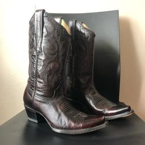 corral leather cowboy boot